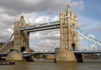 England: Tower Bridge in London