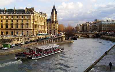 France: River Seine in Paris
