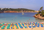 Ibiza Island in the Balearic Islands of Spain