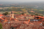 Italian Village Near Asti in Southern Europe