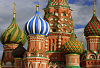 Russia: St. Basil's Cathedral in Red Square