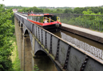 Wales: Pontcysyllte Aqueduct on the Llangollen Canal